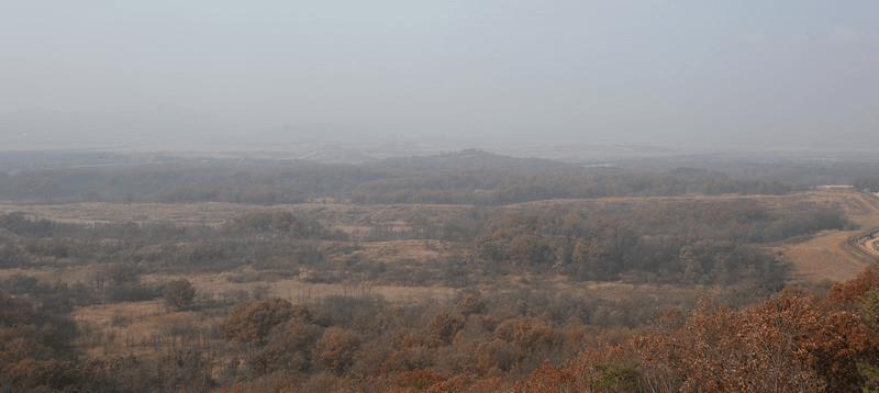 DMZ(非武装地帯)北朝鮮との国境