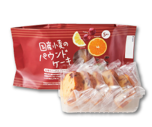組合員イチオシ!一品おすすめ『国産小麦のパウンドケーキ(6種のミックスフルーツ)』|武蔵村山委員会 (多摩西風)