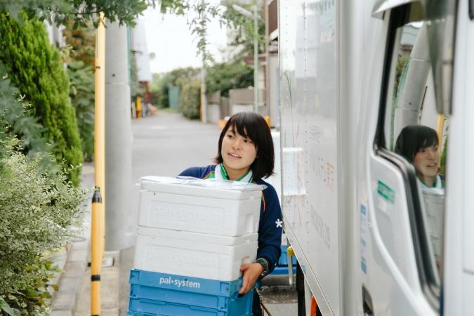 配送スタッフの仕事