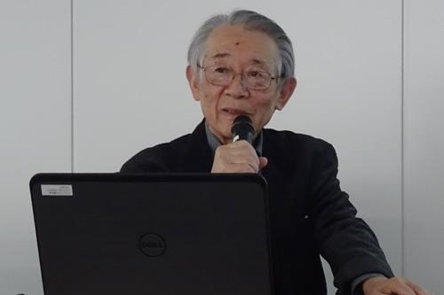 黒部信一氏(「未来の福島こども基金」代表)は「放射線と健康」について講演。