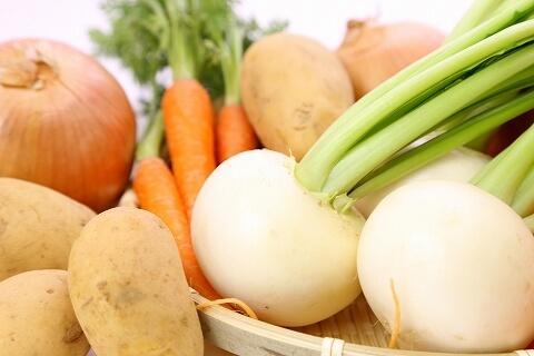 北海道富良野産野菜を使った 親子料理教室!