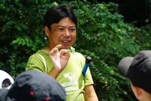 どんな生きものも楽しく説明してくれる須田先生