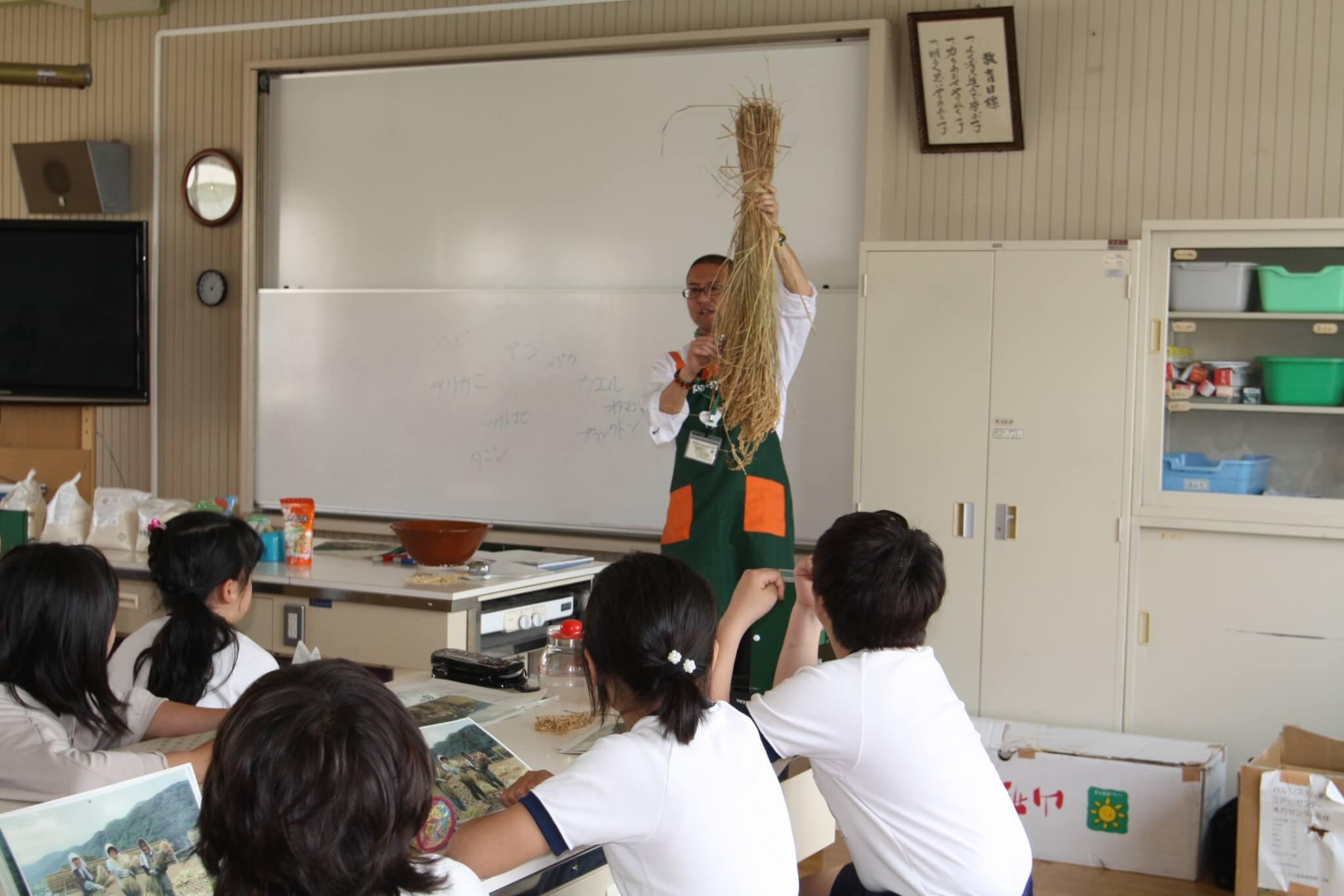 2011年度(平成23年度) パルシステム東京教育支援活動「お米の出前授業」実施校