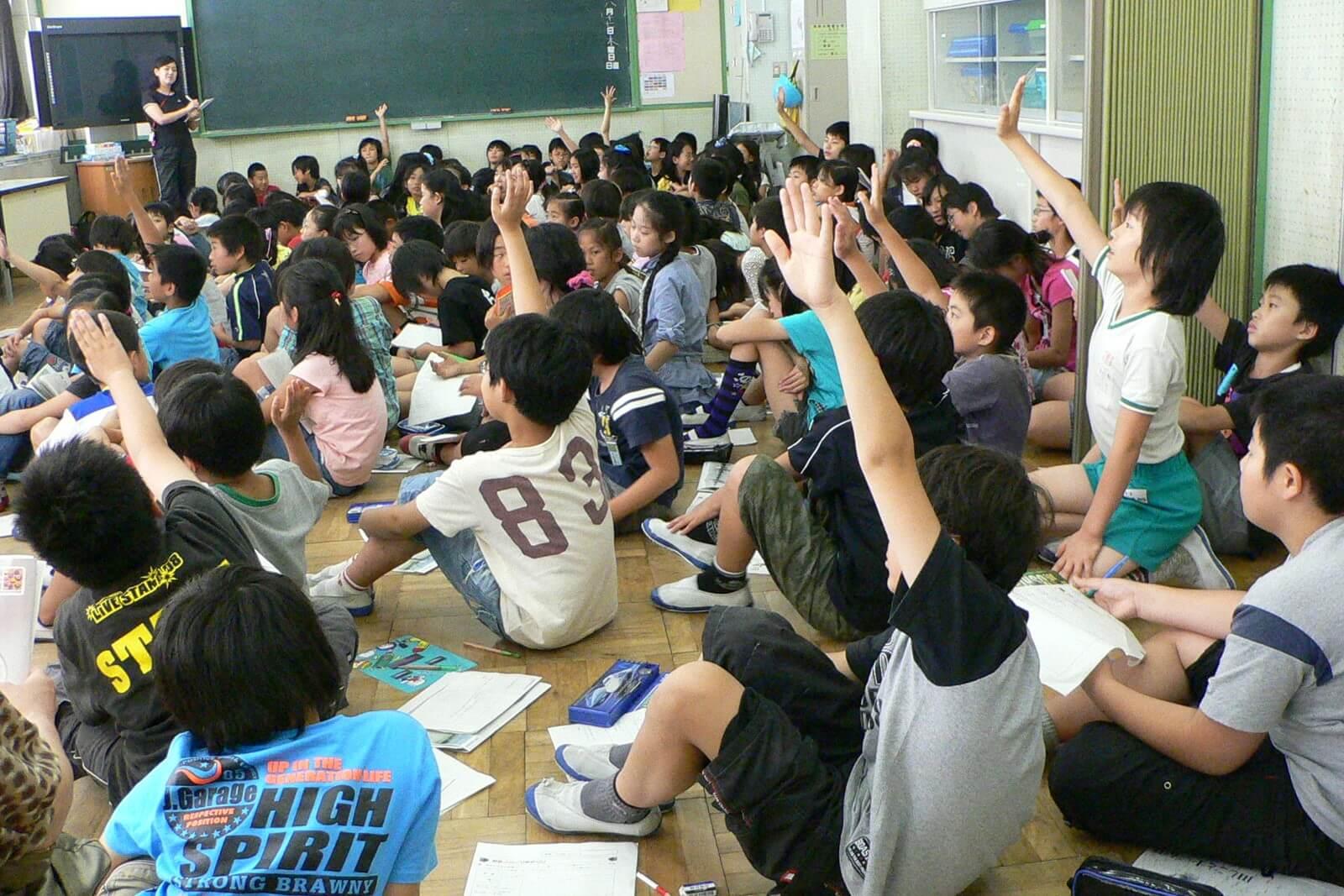 2010年度(平成22年度) パルシステム東京教育支援活動「お米の出前授業」実施校
