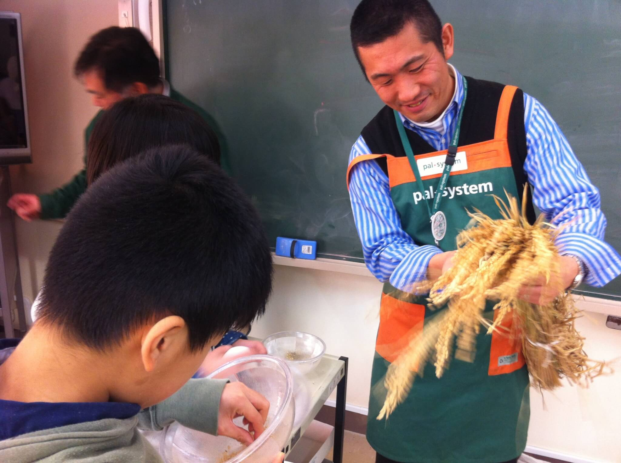 2013年度(平成25年度) パルシステム東京教育支援活動「お米の出前授業」実施校