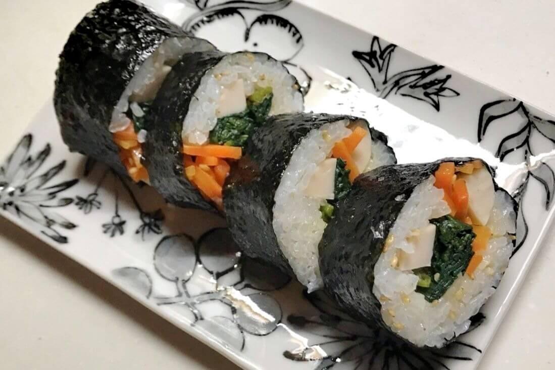 韓国風海苔巻(キンパ)