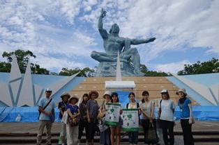 ヒロシマ平和スタディツアー「原爆の子の像」