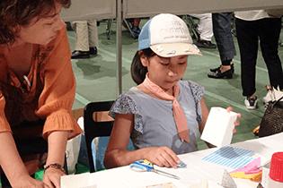 被爆体験証言者の話を聞き、広島市立基町高校の生徒が描いた「原爆の絵」