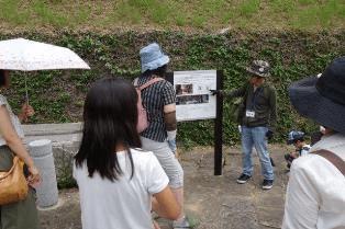 「平和のまち歩き」爆心地より600ḿの長崎医大周辺