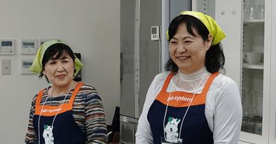 講師は、2016年度韓国スタディツアーに参加したパルシステム東京組合員江口さん(左)星野さん(右)
