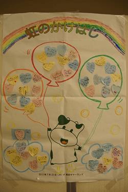 思い思いに子どもたちが、感想を書きました