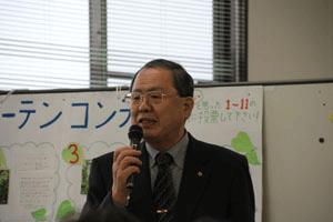 「多くの方に福島に来てほしい」と呼びかける和田理事長(パルシステム福島)