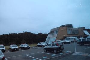 避難指示解除準備区域にある「道の駅ならは」は、双葉警察署の臨時庁舎となっている