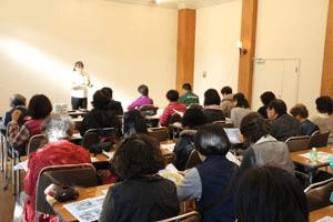 ふくしまオーガニックコットンプロジェクトを進める吉田理事長(NPOザ・ピープル)