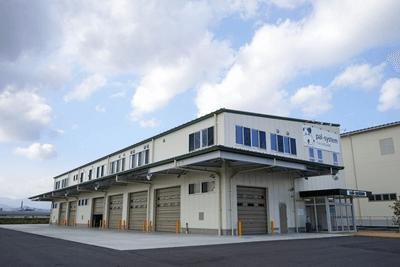 震災後に建てられたパルシステム福島郡山センター