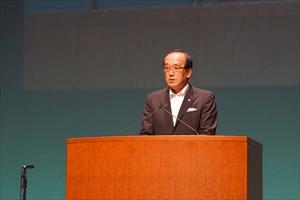 広島市長 松井一寛氏の挨拶