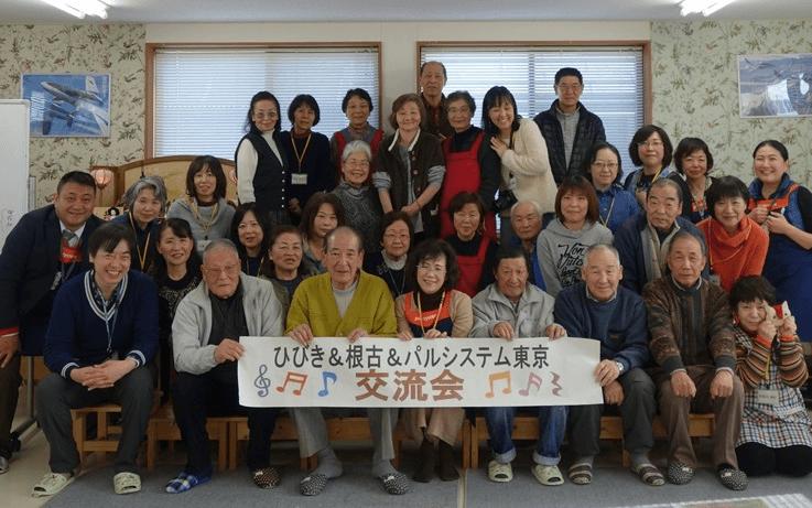 2017年2月11日(土)、東松島市ひびき工業団地仮設住宅で、これまで支援活動に参加した組合員を対象に、住民の方たちとの再会交流と、これからの支援について考える日帰り訪問しました