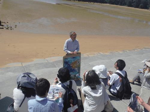 辺野古の海を守る会の田中さんが、淡々と語られている姿は、長年の反対運動の強い意思を感じました