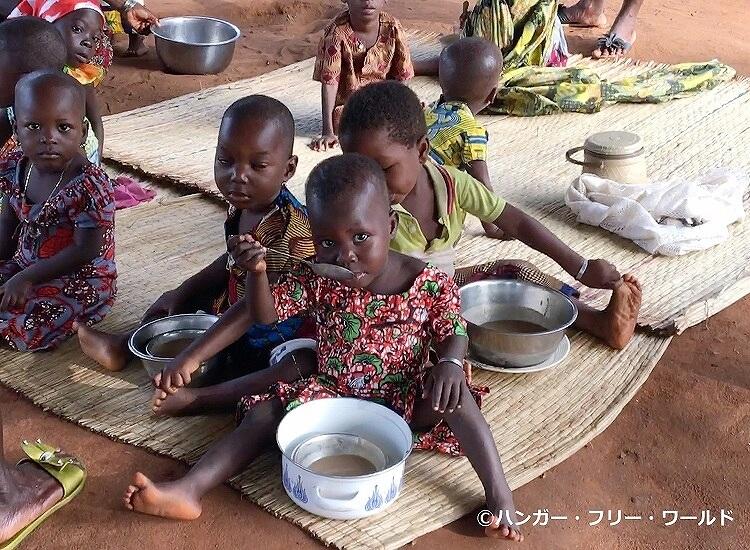 国内紛争が連続したウガンダなどで、栄養不足の子どもと母親を対象にした栄養改善事業などに役立てられます