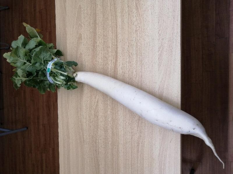 練馬の名物野菜と言えば「練馬大根」