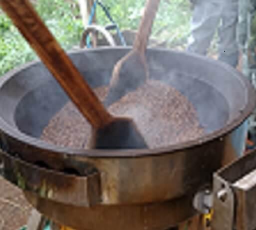 いなぎめぐみの里山 麦茶を作りましょう!